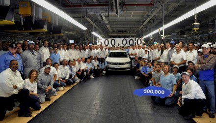 Volkswagen Passat hits 500,000 production milestone at Chattanooga