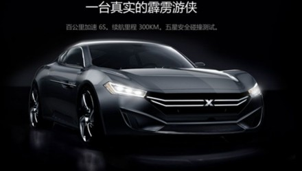 Youxia Motors previews new 'One' electric supercar from China