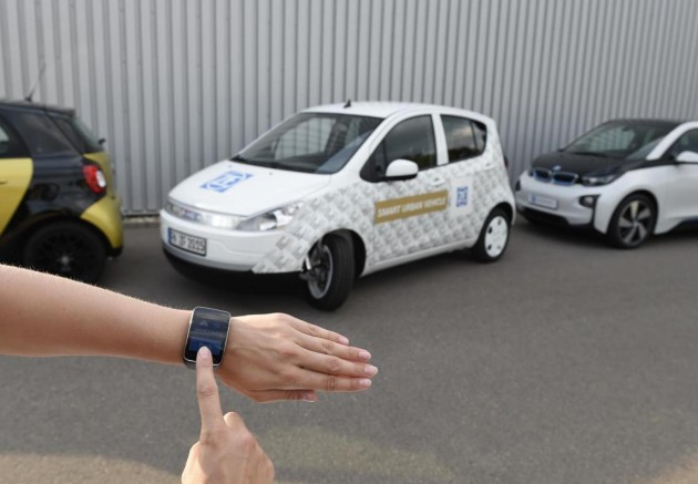 ZF Smart Urban Vehicle-auto parking