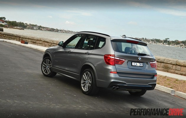 2014-BMW-X3-xDrive28i-rear