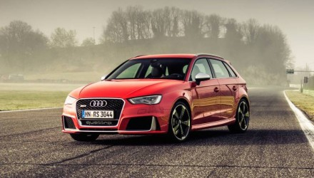 Audi RS 3 Sportback on sale in Australia from $78,900