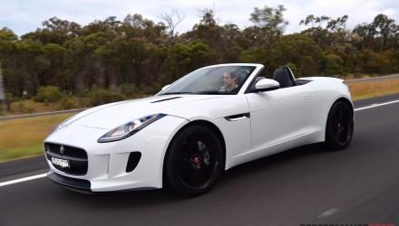 2015 Jaguar F-Type V6 review (video)
