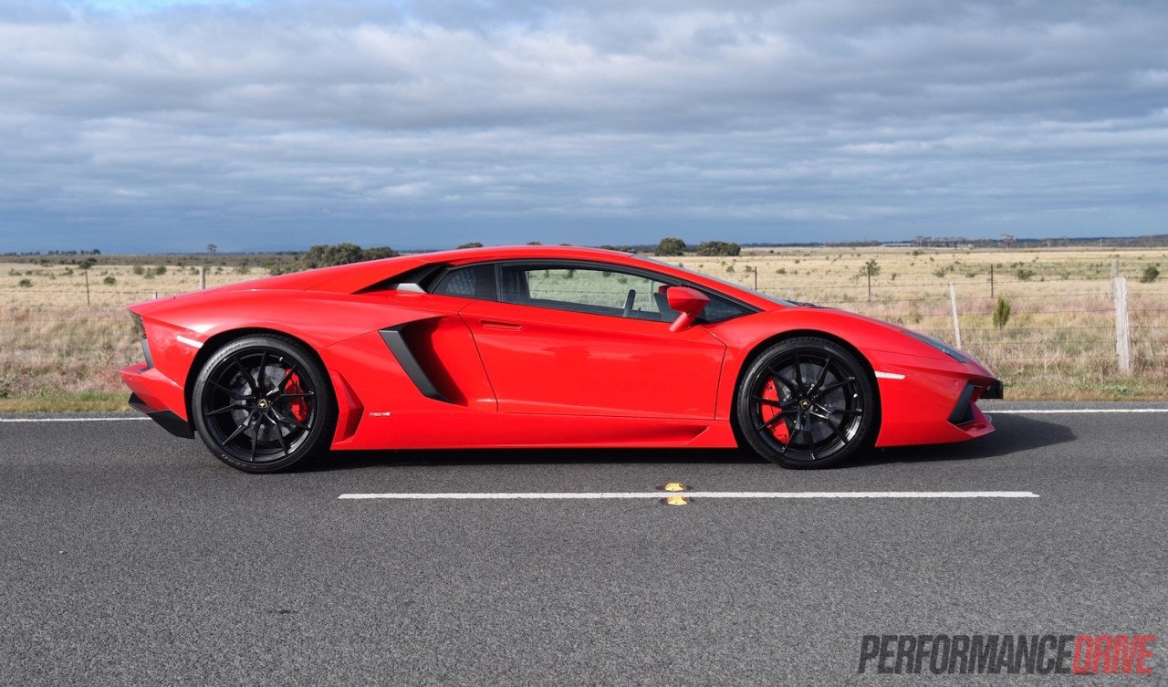 How Much Is A Lambo >> 2015 Lamborghini Aventador LP700-4 review (video) | PerformanceDrive