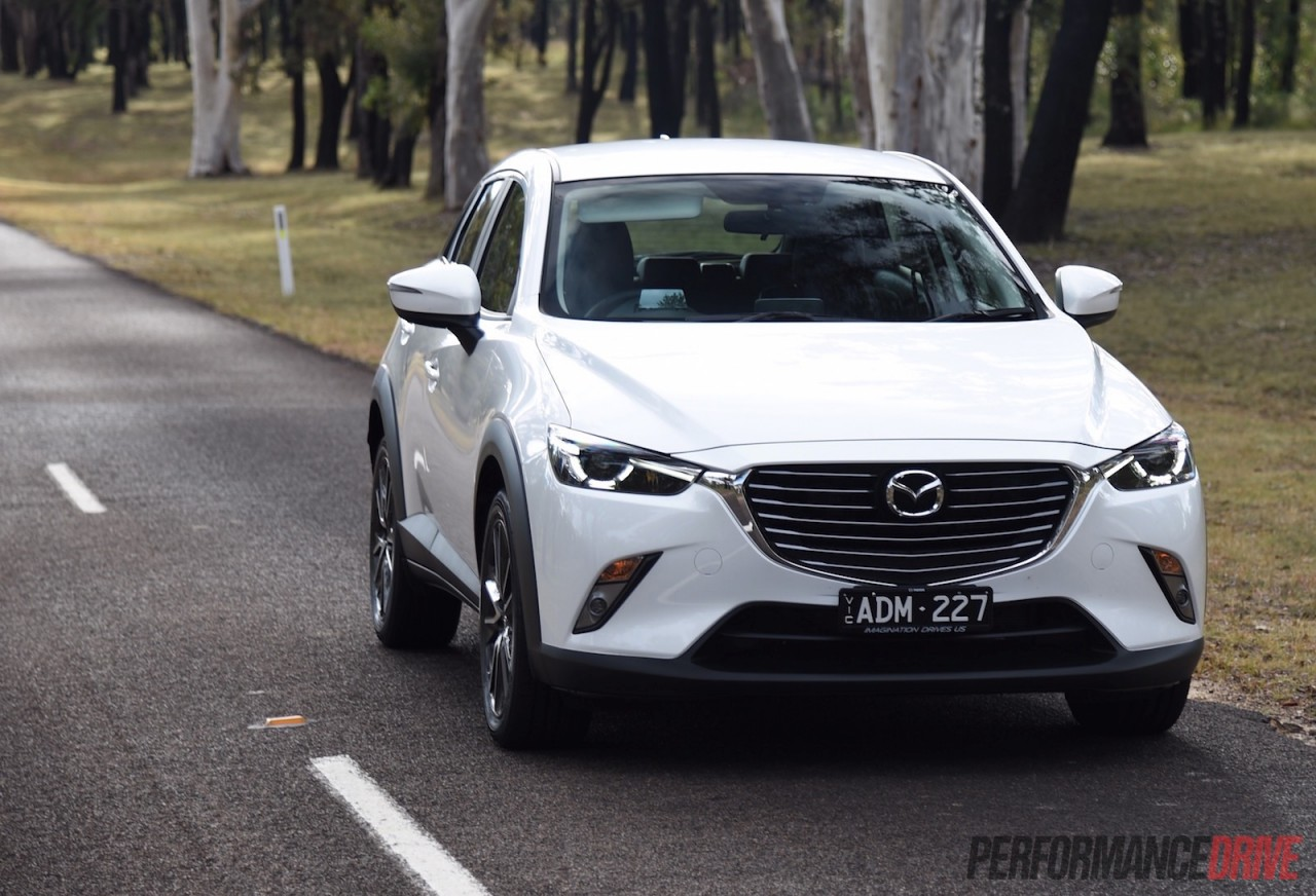 2015 mazda cx 3 stouring petrol review video. Black Bedroom Furniture Sets. Home Design Ideas