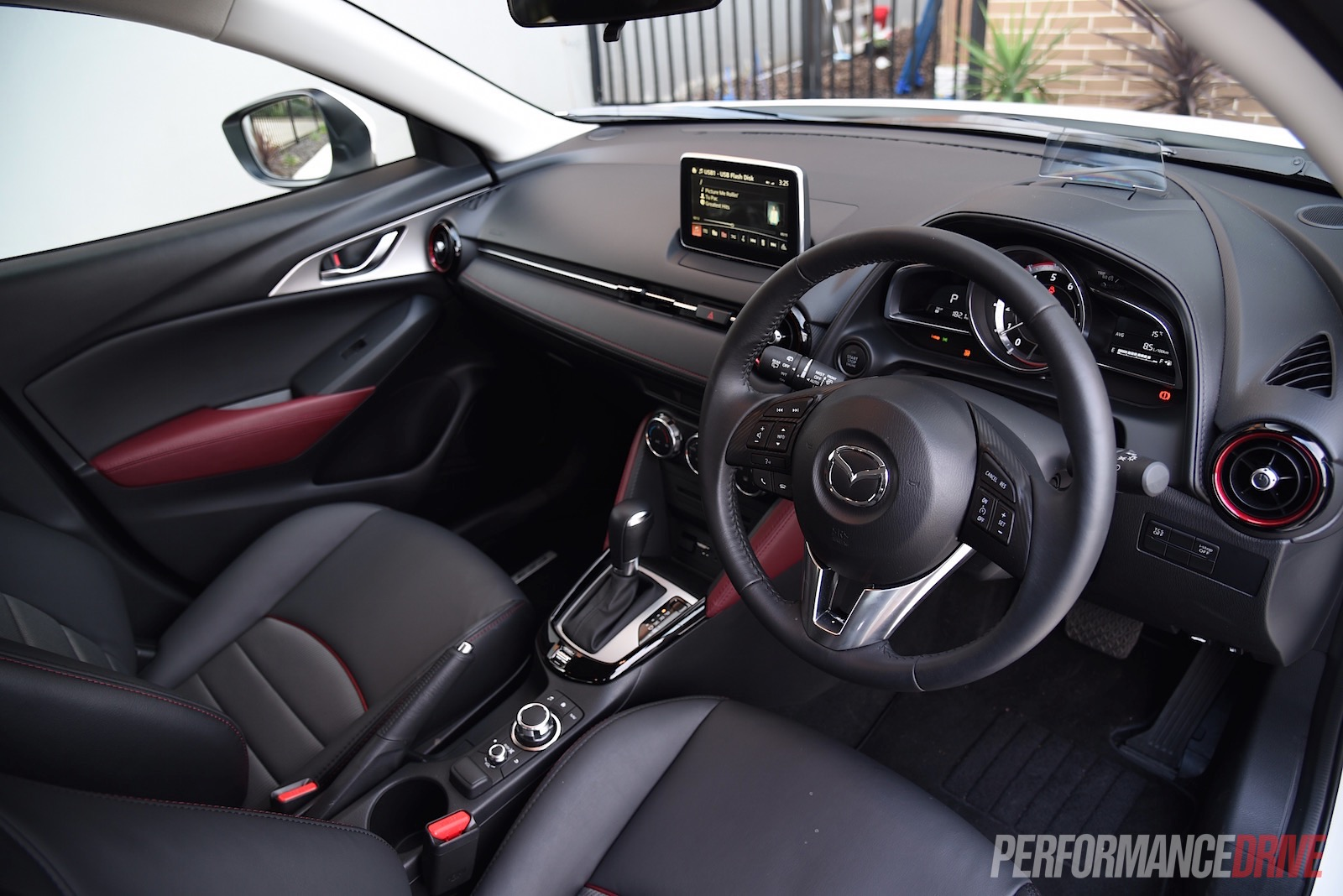 mazda cx 3 interior images galleries with a bite. Black Bedroom Furniture Sets. Home Design Ideas