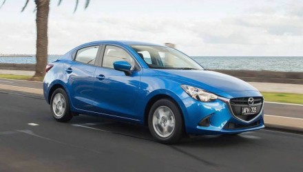 Mazda2 update on sale in Australia from $14,990, sedan variant added