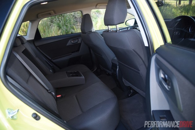 2015 Toyota Corolla Ascent Sport-rear seats