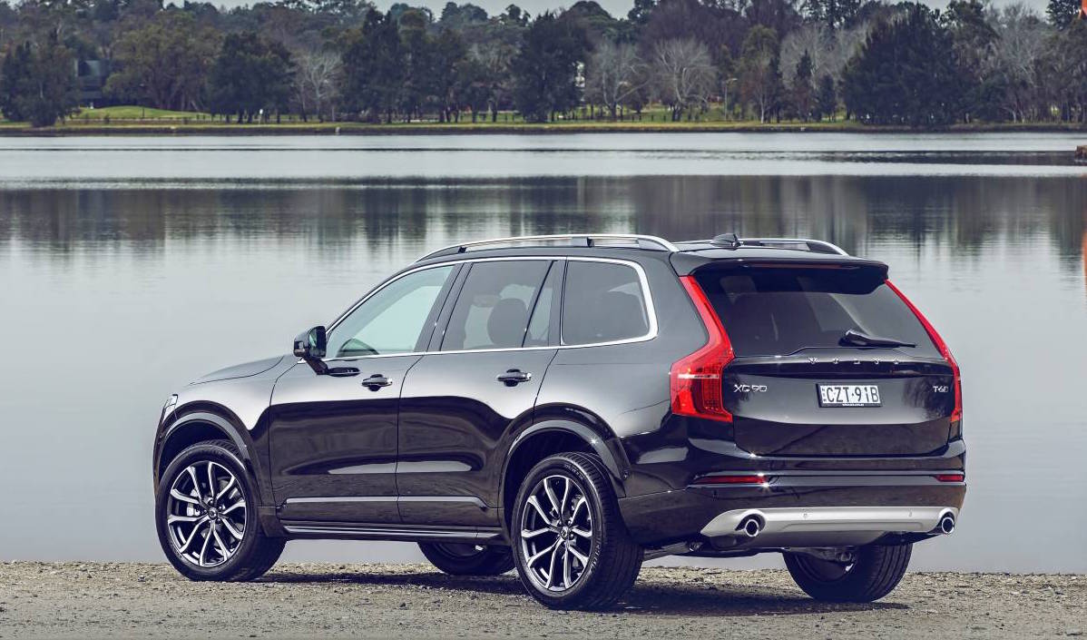 new volvo xc90 lands in australia d5 t6 t8 available performancedrive. Black Bedroom Furniture Sets. Home Design Ideas
