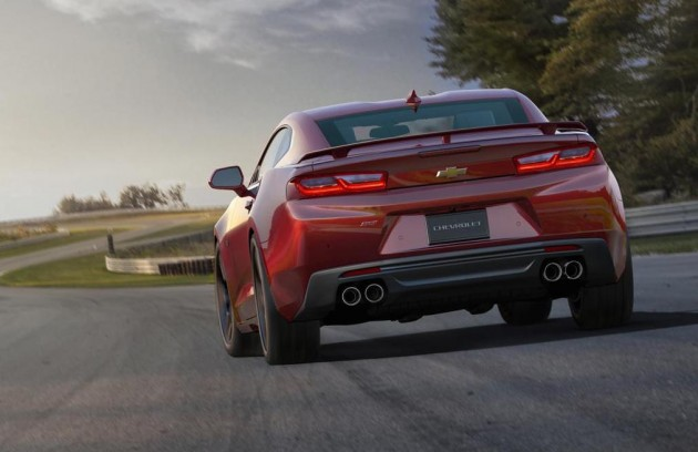 2016-Chevrolet-Camaro-rear