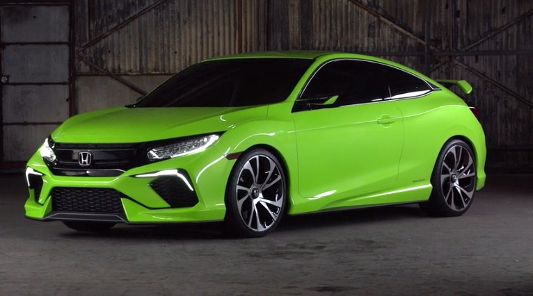 2016 Honda Civic sedan debuts September, new 1.5 turbo VTEC