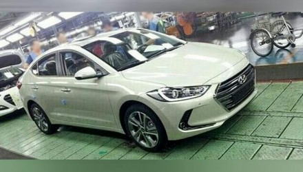 2016 Hyundai Elantra revealed via production line images