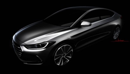 2016 Hyundai Elantra previewed before LA show debut