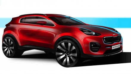 2016 Kia Sportage previewed, will debut at Frankfurt show