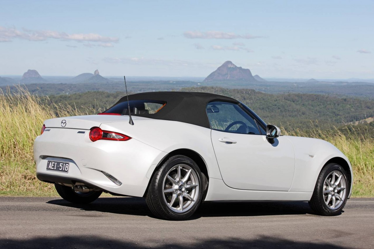 all new mazda mx 5 on sale in australia from 31 990. Black Bedroom Furniture Sets. Home Design Ideas