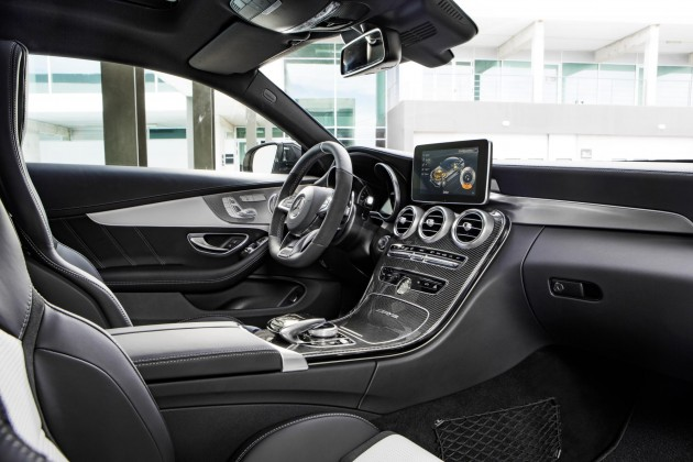 2016 Mercedes-AMG C 63 AMG Coupe-interior