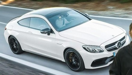 2016 Mercedes-AMG C 63 Coupe revealed during presentation