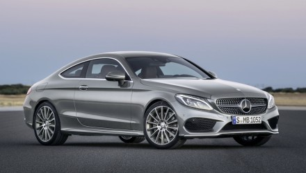 2016 Mercedes-Benz C-Class Coupe revealed; lighter, larger