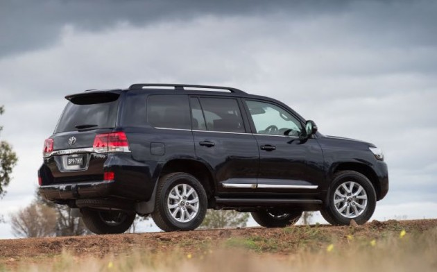 2016 Toyota LandCruiser-rear