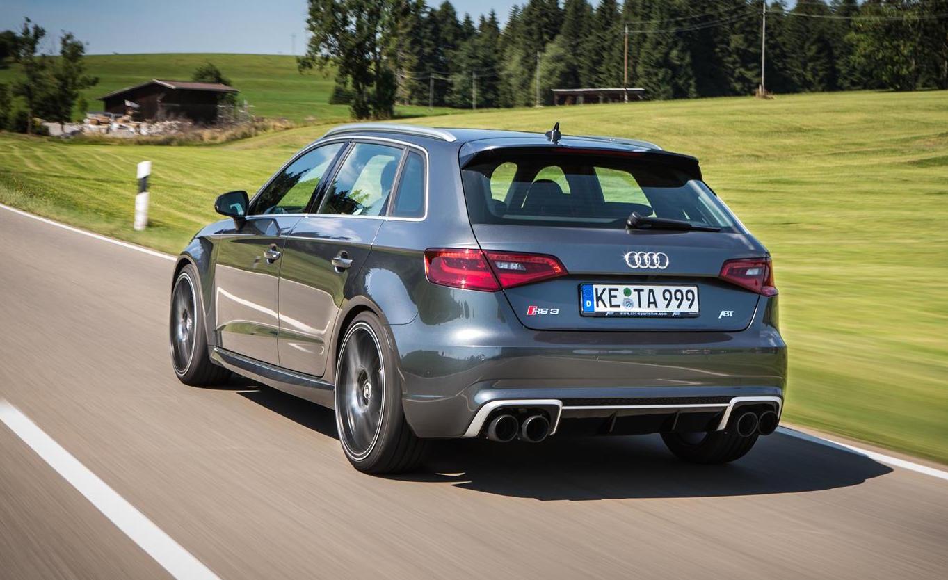 Abt Announces Tuning Kit For Mental Audi Rs 3 Sportback