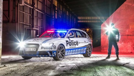 Audi RS 4 Avant police car joins NSW Force