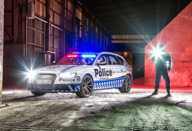Audi RS 4 Avant NSW Police-Illawarra
