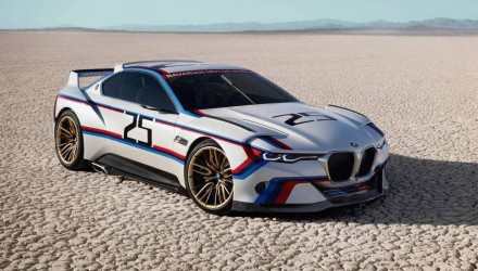 BMW 3.0 CSL Hommage 'R' concept revealed