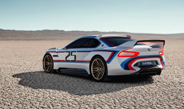 BMW 3.0 CSL Hommage R concept-rear