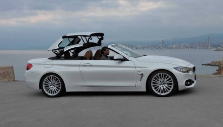 Next BMW 4 Series convertible; carbon architecture, fabric roof – rumour