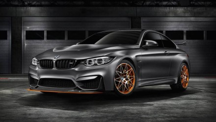 BMW M4 GTS concept revealed, previews lightweight special edition