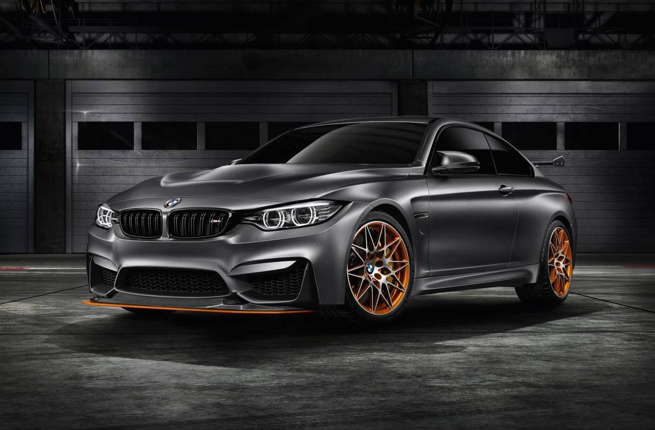 bmw m4 gts concept revealed previews lightweight special. Black Bedroom Furniture Sets. Home Design Ideas