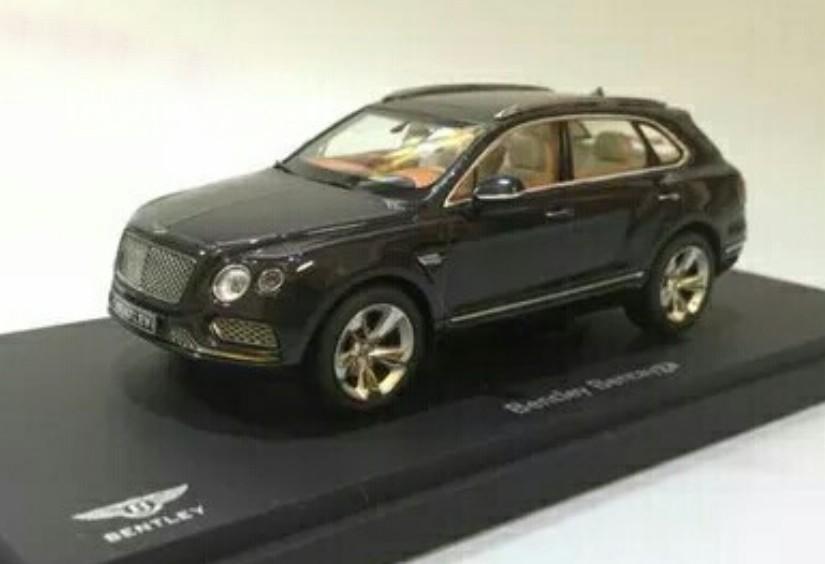 Bentley Bentayga Revealed In Die Cast 1 18 Model Form