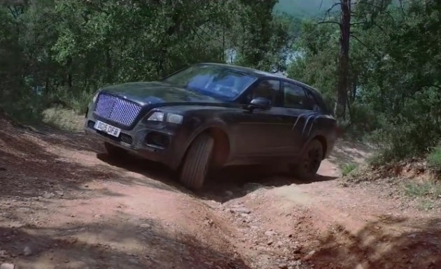 Bentley Bentayga off road