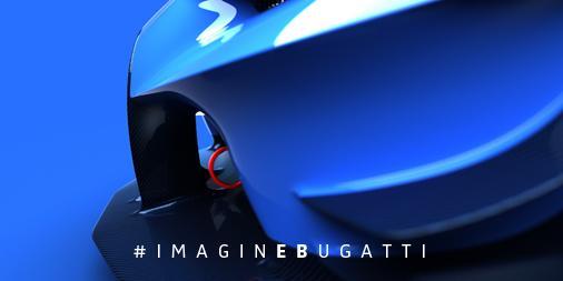 Bugatti Vision Grand Turismo teaser-front