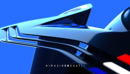 Bugatti Vision Gran Turismo concept previewed again