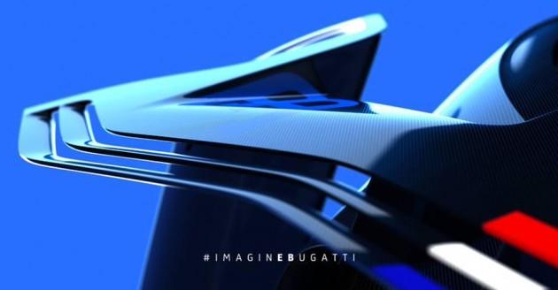 Bugatti Vision Grand Turismo teaser-wing
