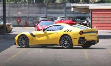 Ferrari F12 Speciale spotted without camouflage