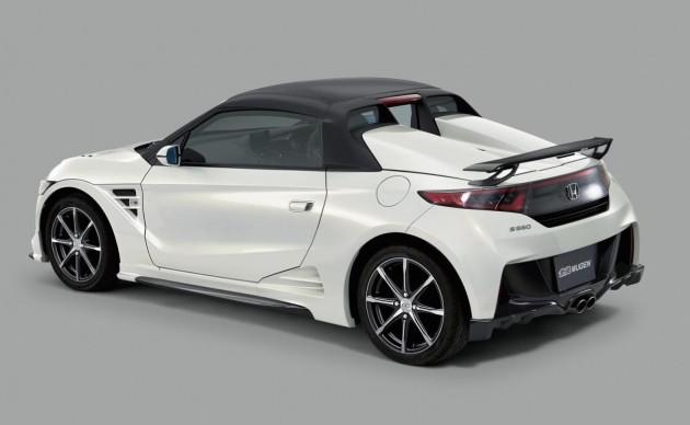 Honda S660-rear