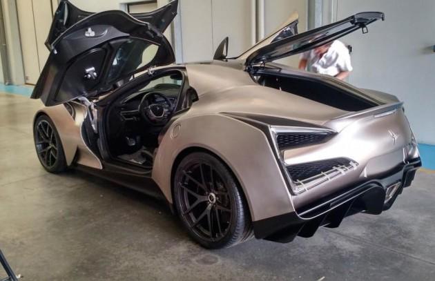 Icona Vulcano Titanium-doors