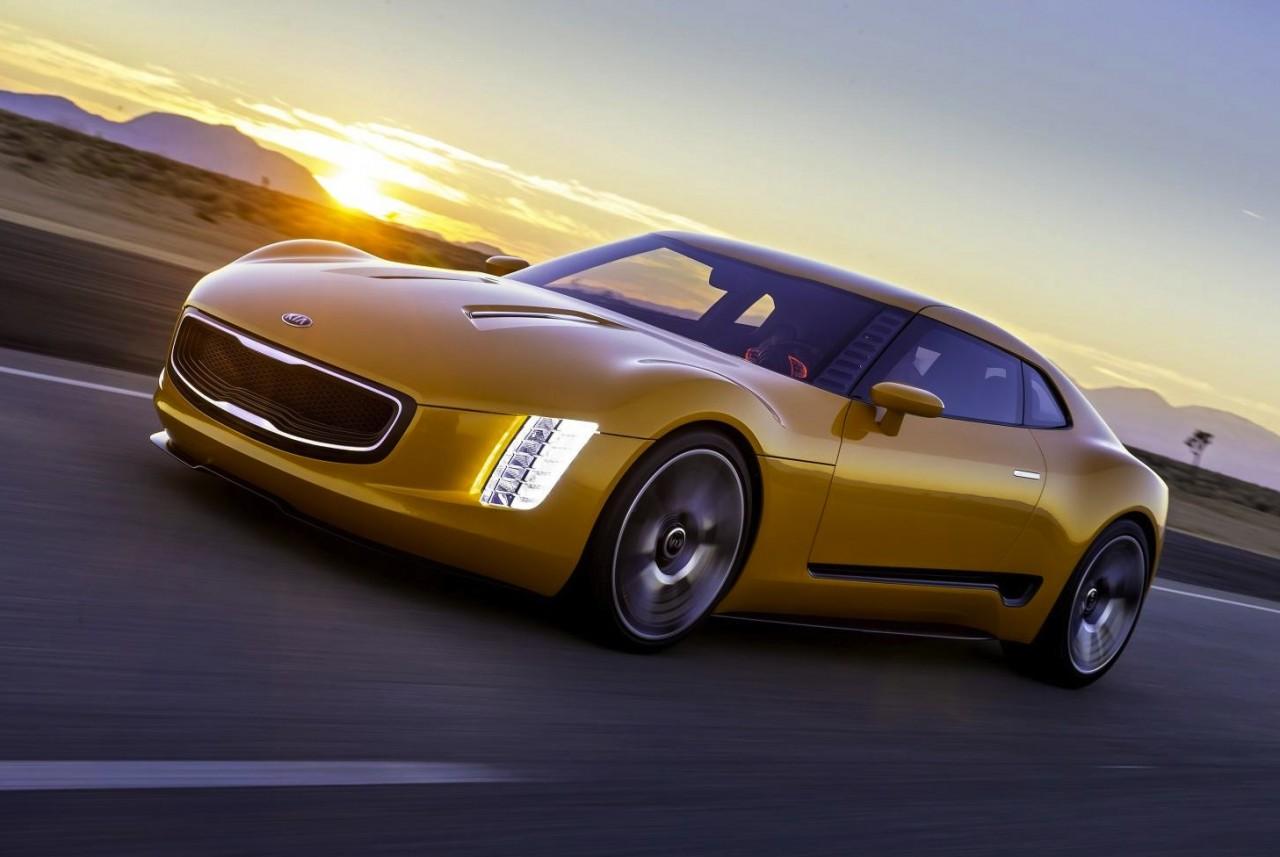 Exceptional Kia GT4 Stinger Concept
