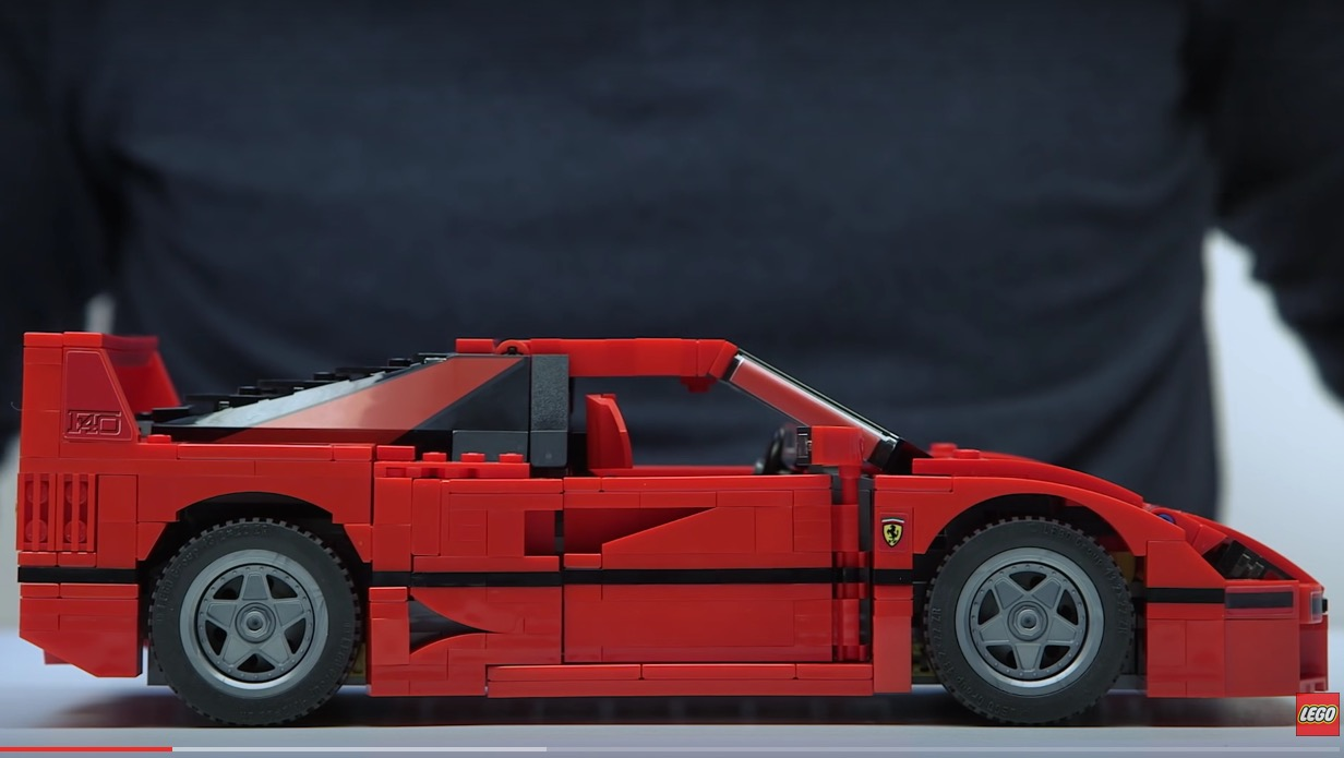 lego releases official ferrari f40 comes with bespoke pieces performancedrive. Black Bedroom Furniture Sets. Home Design Ideas