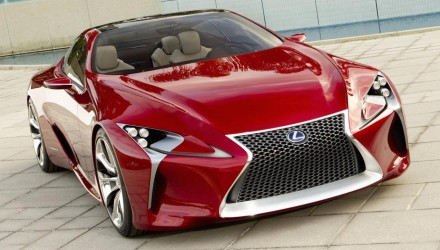 Lexus plans 2nd flagship, alongside LS sedan