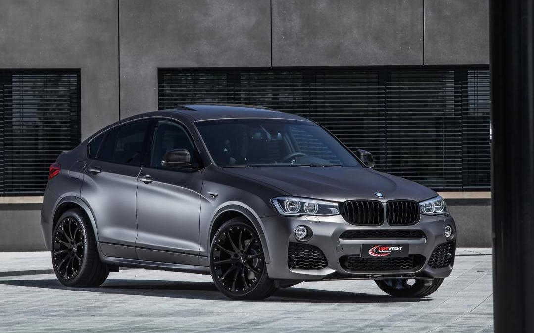 Bmw X4 Xdrive35d Tuning Kit Announced By Lightweight