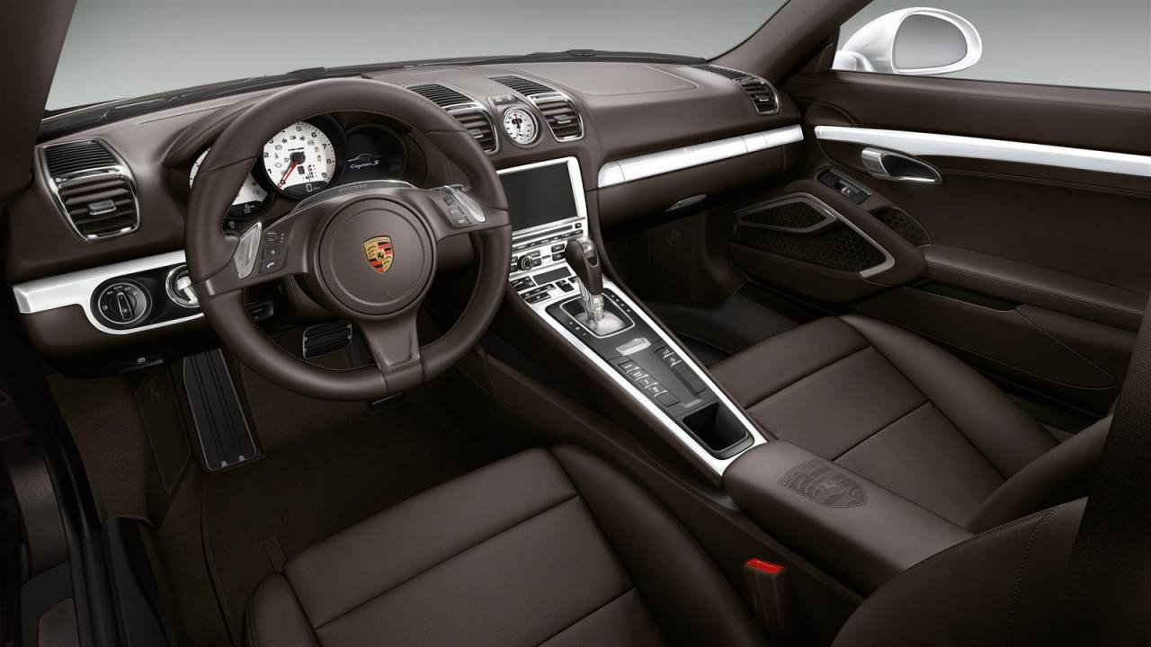 porsche exclusive works its magic on cayman s. Black Bedroom Furniture Sets. Home Design Ideas