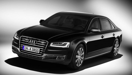 "2015 Audi A8 L security revealed, ""most secure Audi ever"""