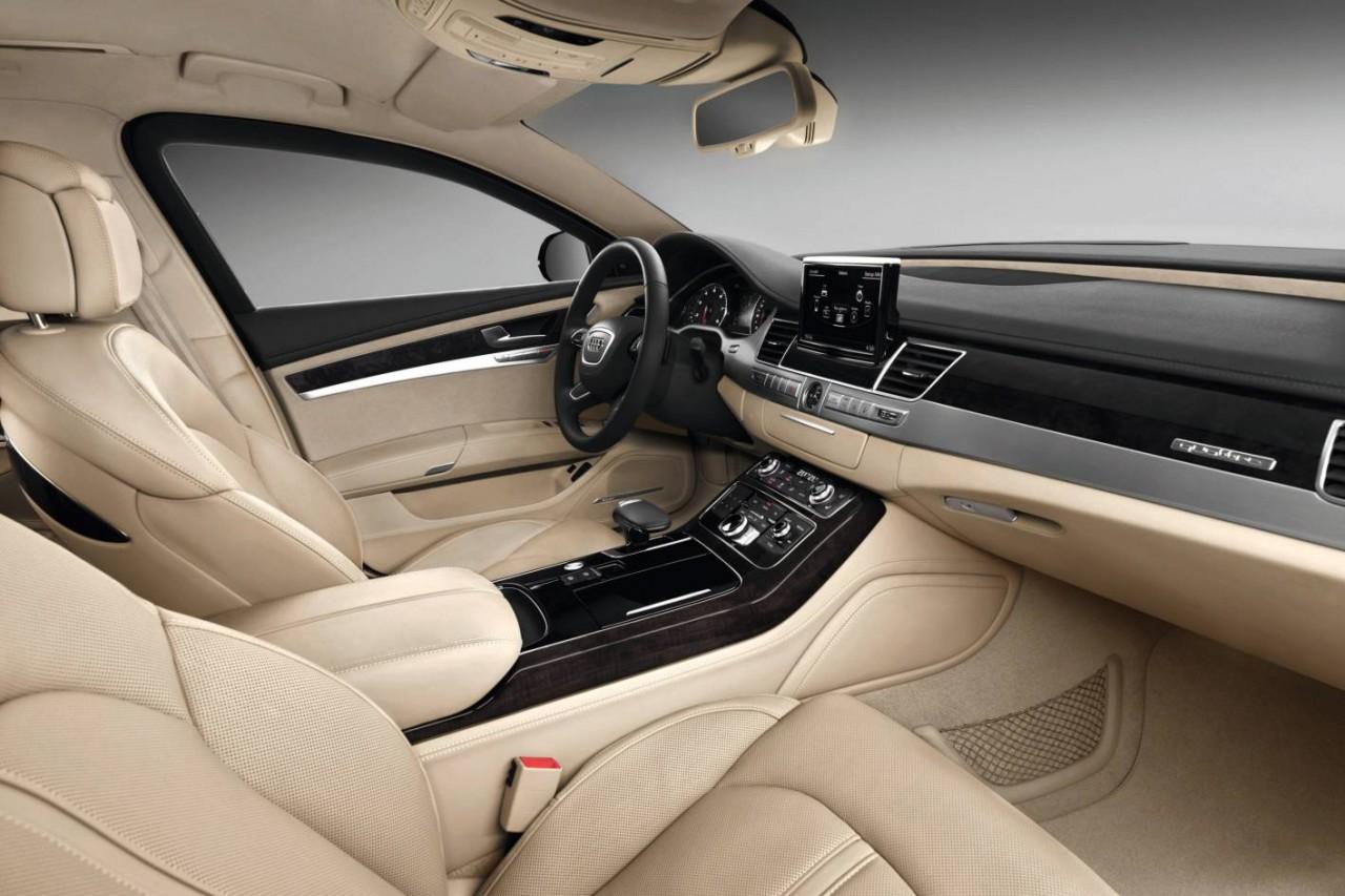 2015 audi a8 l security revealed most secure audi ever for Interieur voiture de luxe