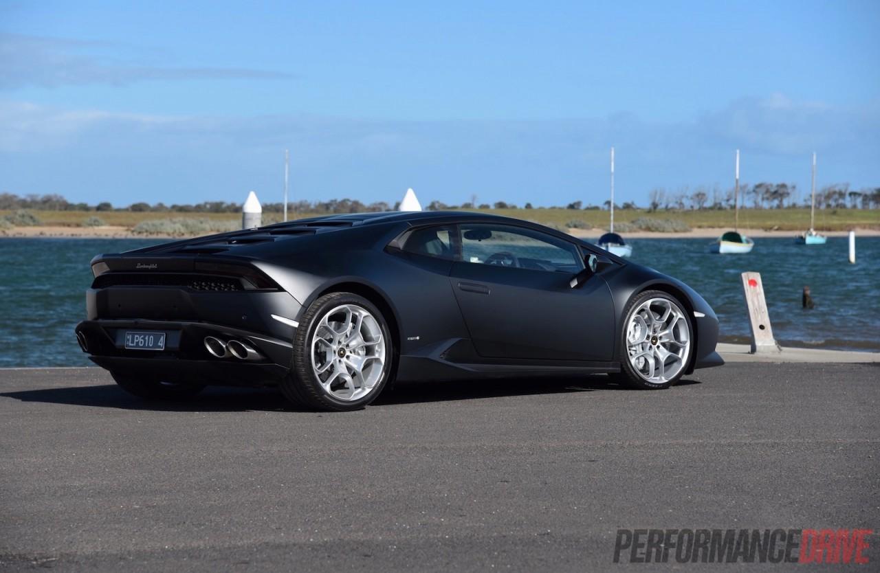 2015 Lamborghini Huracan Rear