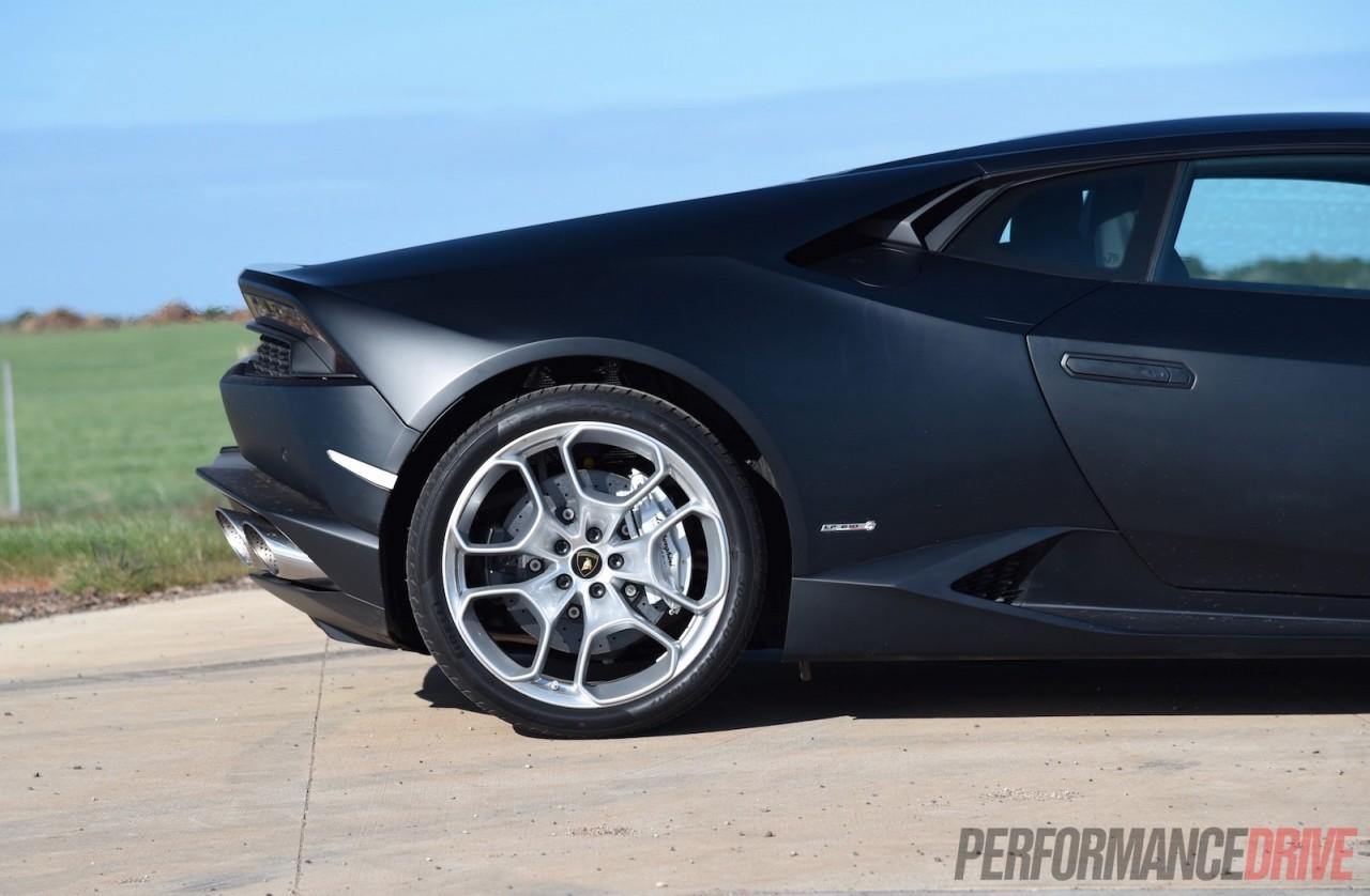 2015 Lamborghini Huracan Rear Wheel