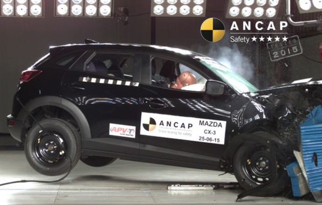 2015 Mazda CX-3 ANCAP crash test