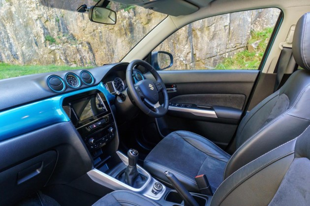 2015 Suzuki Vitara-interior