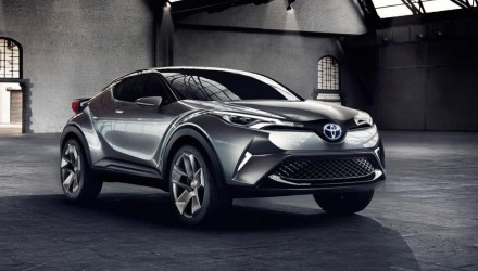 "Toyota C-HR concept nearer to production, on Australia ""wish list"""